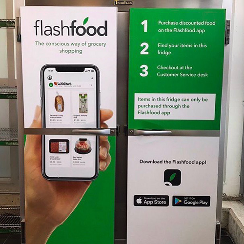 Meijer is partnering with Canadian-based Flashfood to unveil a new app that allows shoppers to purchase produce and other fresh food nearing its best-buy date at a reduced price (Photo Credit: Flashfood)