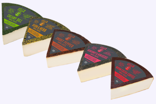 Schuman Cheese adds new, fun, and exciting flavors to its Cello Fontina line just in time for WFFS