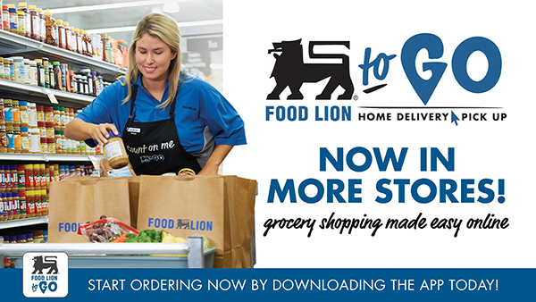 Food Lion, in partnership with Instacart, recently expanded its delivery service to 302 stores in Maryland, North Carolina, South Carolina, Virginia, and West Virginia