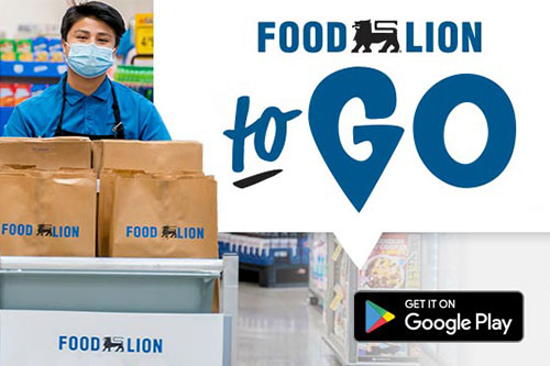 """Ahold Delhaize division Food Lion announced it will be adding additional """"Food Lion To-Go"""" grocery pick-up services at 32 new stores in Georgia, North Carolina, South Carolina, Tennessee, and Virginia"""