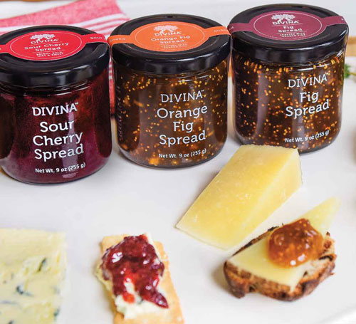 The new Fig Spreads are produced with Aegean figs and are outstanding on sandwiches