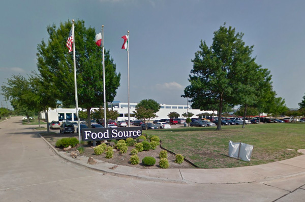 Food Source's McKinney, TX, Headquarters. Image via Google Maps