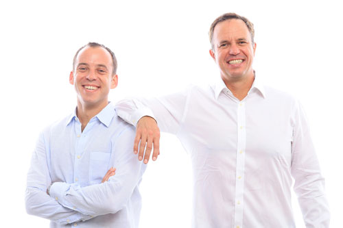 Safe Catch Co-Founders Sean Wittenberg (left) and Bryan Boches (right)