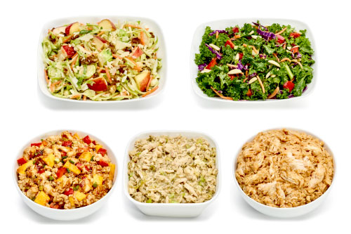 Fresh Protein-Packed Salads