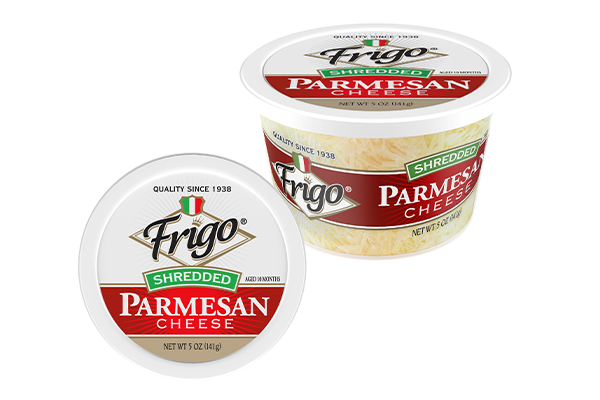 Both of Saputo Cheese's brands, Treasure Cave® and Frigo® Cheese, have removed the carton sleeves, moved to direct label printing, and added instructions on the cups to inform consumers on proper disposal