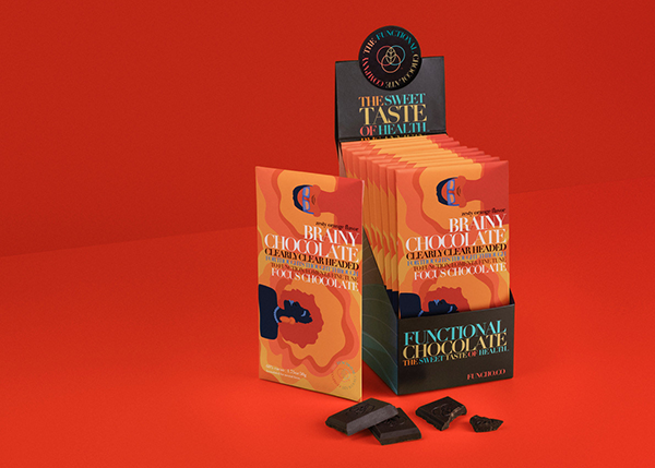The Functional Chocolate Company® is expanding its better-for-you lineup with Brainy Chocolate Bars, which are designed to enhance focus and productivity