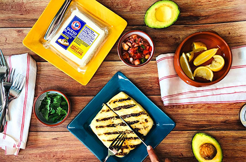 FrieslandCampina rebranded its Gayo Azul line, which offers an array of Dutch cheeses with a Hispanic twist
