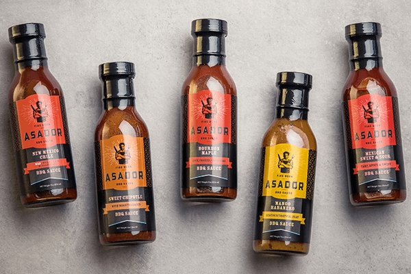 A major California grocer approached Gardel's Fine Foods' Chef Gerard for an exclusive partnership, asking him to create a line of sauces for its wing bars in all stores