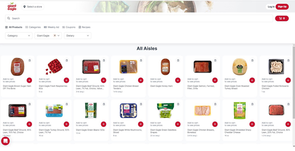 Giant Eagle has announced it will be expanding its Giant Eagle Marketplace via a partnership with online product discovery platform RangeMe