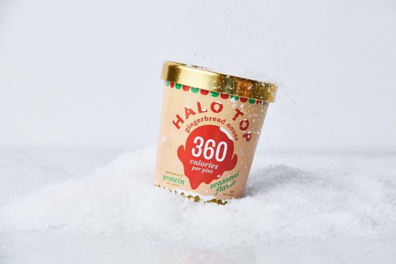 Halo Top's new Gingerbread House flavor