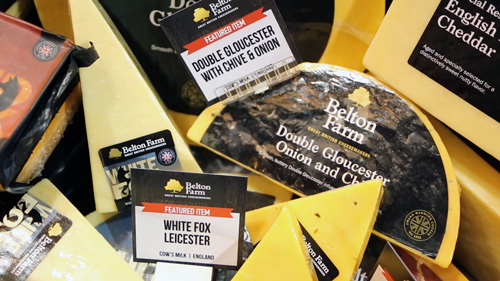 Belton Farm showcases classic and contemporary styles of British cheese made from locally sourced, grass-fed, and free-range milk