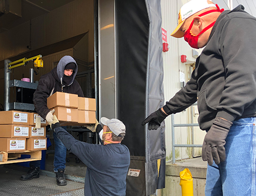 Godshall's Quality Meats recently donated its meat products to the Touch New Jersey food pantries, providing an essential meal for many families