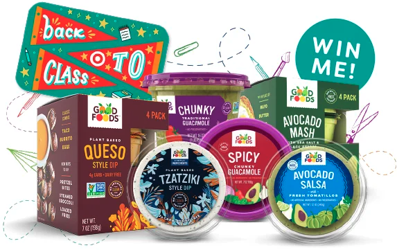 """Good Foods has recently announced the launch of its second annual """"Back To The Books"""" sweepstakes, which is now live through October 1"""