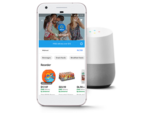 Ordering from Walmart is now possible with Google Express
