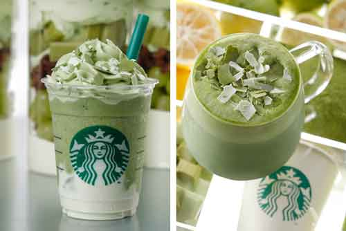 Green Tea Cheese Frappaccino