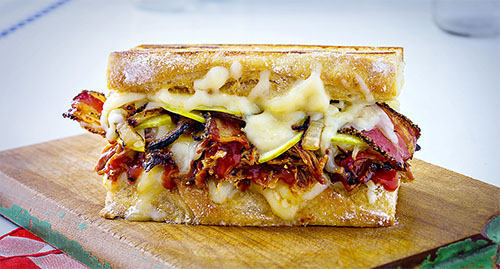 """The Flying Pig,"" Judges Choice, Wisconsin Grilled Cheese Recipe Showdown 2017"