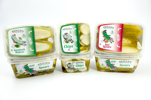 Grillo's Pickles uses a hundred-year-old recipe when making its exceptional products