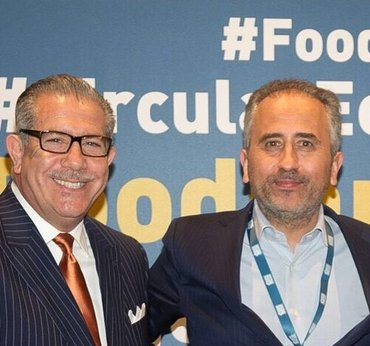 SFA President Phil Kafarakis & Seeds&Chips Founder and Chairman Marco Gualtieri