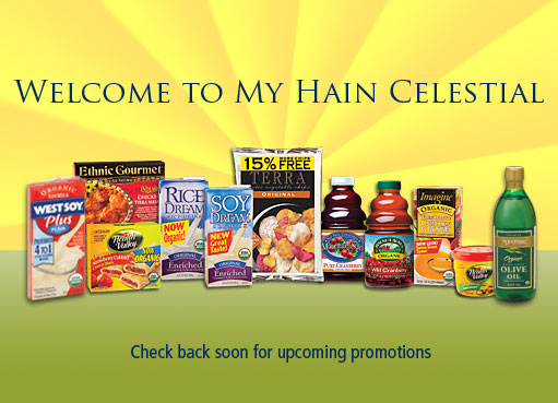 A few of Hain Celestial's product offerings from the company's website