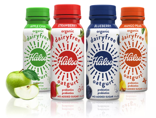Scandinavian plant-based drinkable oat milk yogurt Hälsa's Oatgurt™ is expanding its presence in the U.S. market