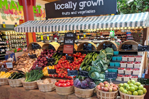 Hannaford announced that four of its locations in Portland, Westbrook, Gorham, and Falmouth will reopen and be available to shoppers with new looks that celebrate fresh, produce, and convenience