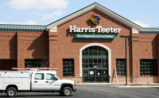 Harris Teeter's uptown store on West Sixth Street in Charlotte, North Carolina, will be eliminating its cashiers and transitioning to self-checkout only