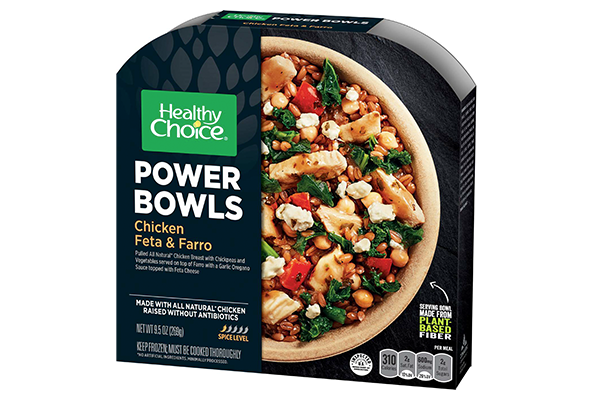 Conagra Brands partnered with Footprint to release new products featuring bowls made from plant-based fibers for Healthy Choice Power Bowls
