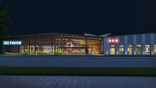 H-E-B signed a long-term lease for an 81,000-square-foot facility in East Austin, Texas