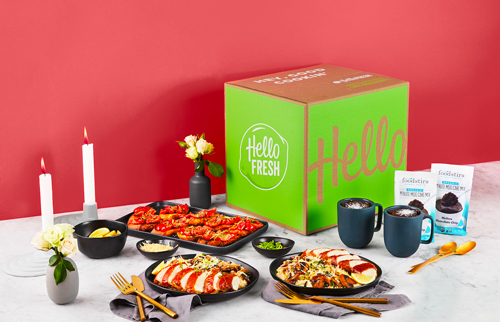 HelloFresh is partnering up with Jessica Alba for the HelloFresh Date Night Box
