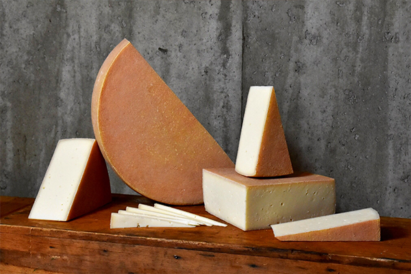 Two of Jasper Hill Farm's cheeses—Highlander and Lait Bloomer—made it into the Top 20 at the World Championship Cheese Contest (Pictured: Highlander)