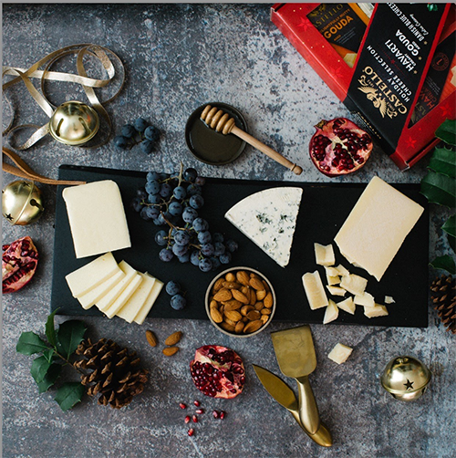 Castello is launching a Holiday Cheese Selection Box to support Havarti-filled holidays, featuring the company's best-selling Creamy Havarti cheese, Aged Gouda, and Traditional Blue Cheese Wedge