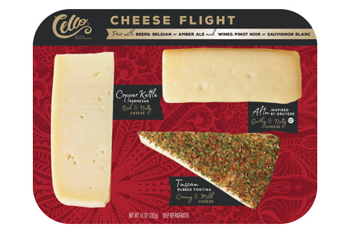 Schuman Cheese's Holiday Cheese Tray will be available for retail this October