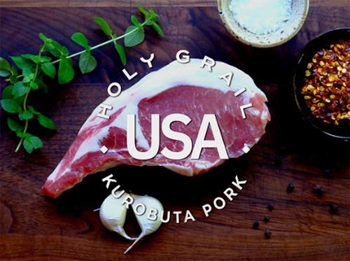 In addition to its portfolio of world-class steaks, Holy Grail Steak Co. is now offering purebred heritage Kurobuta pork