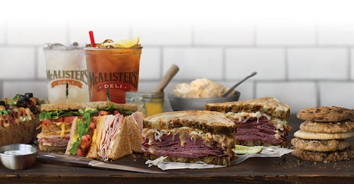 This Fall McAlister's Deli is adding the Garlic Herb Roast Beef Sandwich and the Salted Caramel Cookie to their menu