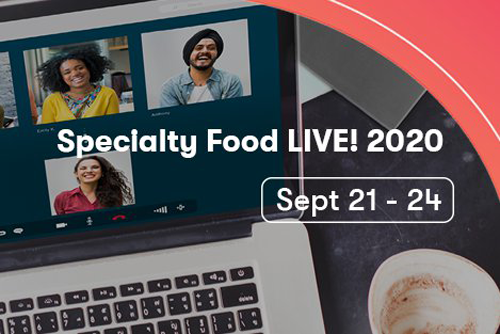 The Specialty Food Association recently announced the start of Specialty Food LIVE!™, featuring hundreds of SFA member companies