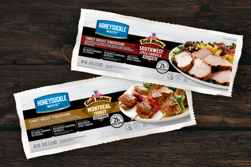 Cargill's new Marinated Turkey Breast Tenderloins answer consumer demand for convenient protein options