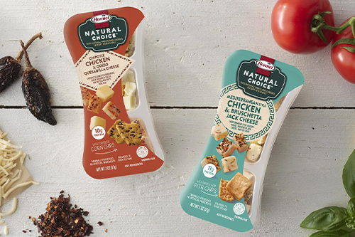 Hormel announced the addition of two flavors to its deli meat and cheese snacks line