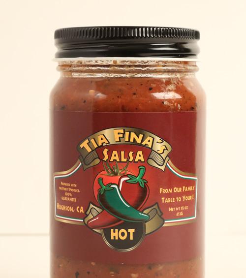 Tia Fina's Hot Salsa