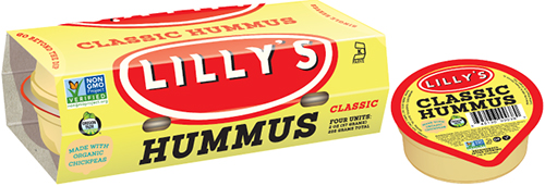 Lilly's uses only the best chickpeas and roasts its red bell pepper, jalapeños, and Roma tomato ingredients using hazelnut-shell briquettes, a renewable resource
