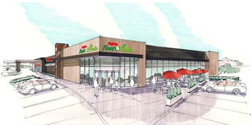 Hy-Vee's Fast & Fresh Concept