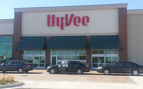 Hy-Vee will be installing a new grocery pickup kiosk at its largest Rochester, Minnesota, store (Photo credit: Jeff Kiger/Post Bulletin)