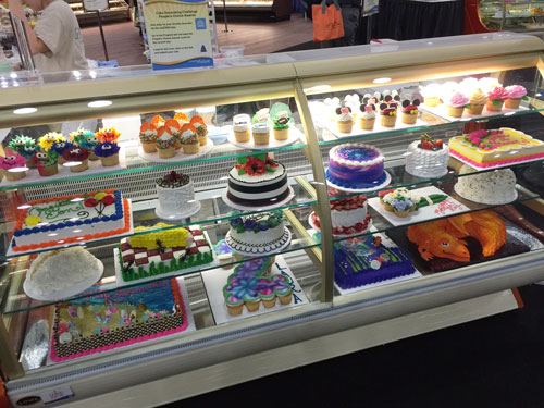 Cakes by 3rd Place Winner, Paige Thornton of Green Valley Marketplace in Elkridge, MD