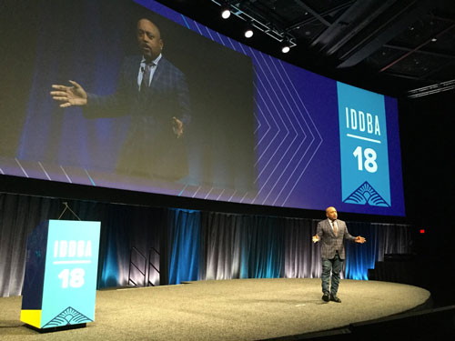 Daymond John of Shark Tank at IDDBA 2018