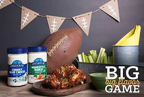 Litehouse, Inc. is looking to boost purchases by bringing back its Big Game Big Flavor promotion
