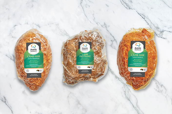 World Select Cuts announced the launch of Aussie Select™, a line of hand-crafted, premium deli meats featuring free-range, pasture-raised Australian lamb