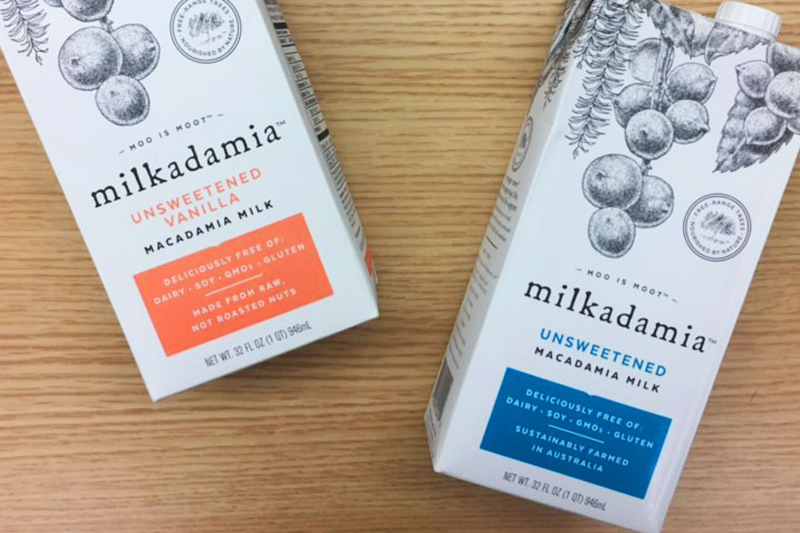 milkadamia is growing the plant-based space with the announcement of several new products to its portfolio