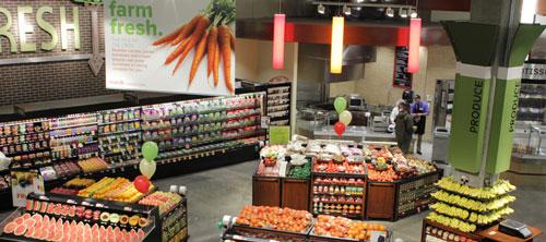Inside Marsh Supermarket