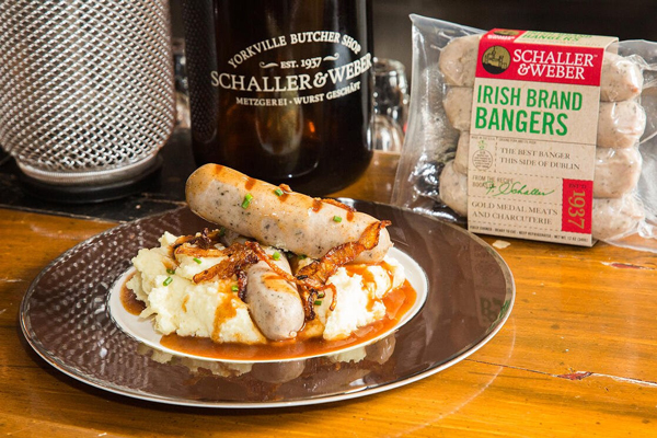 Schaller & Weber recently introduced its latest product, Irish Bangers