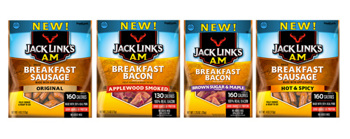 Jack Links Breakfast Line Up