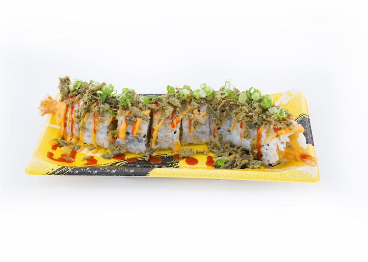 Jalapeño Crunch Roll